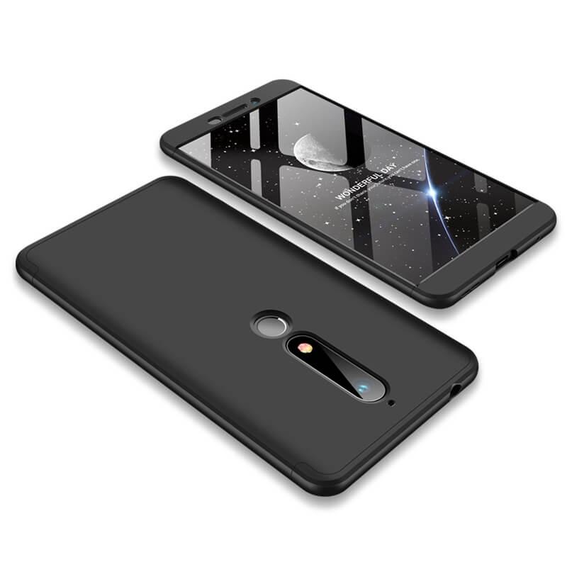 FORCELL 360 ° Ochranný obal Nokia 6.1 černý