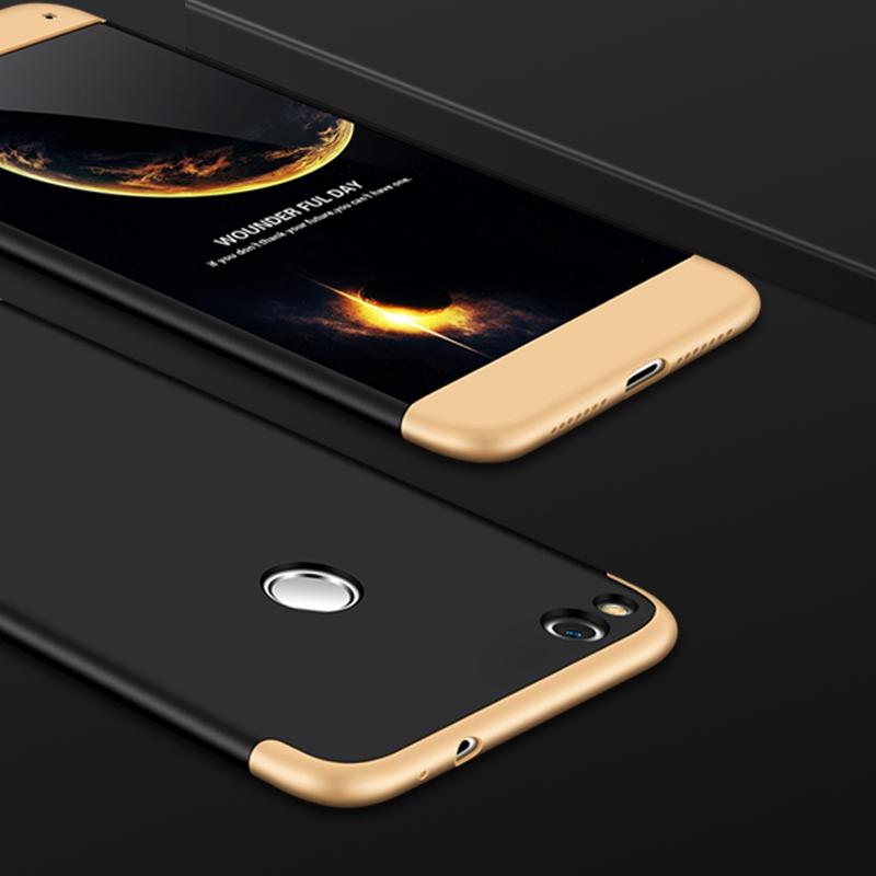 FORCELL 360° Ochranný obal Huawei P9 Lite 2017 čierno-zlatý