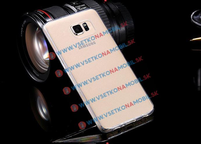 Plastový kryt Samsung Galaxy S6 edge průhledný