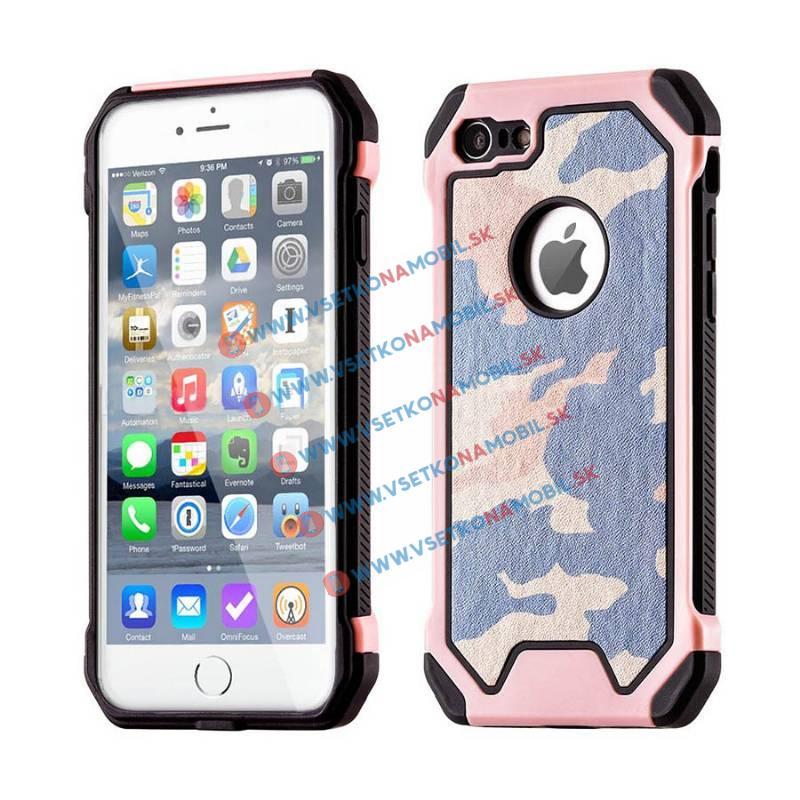 FORCELL ARMY Ochranné púzdro Apple iPhone 6 / 6S ružové