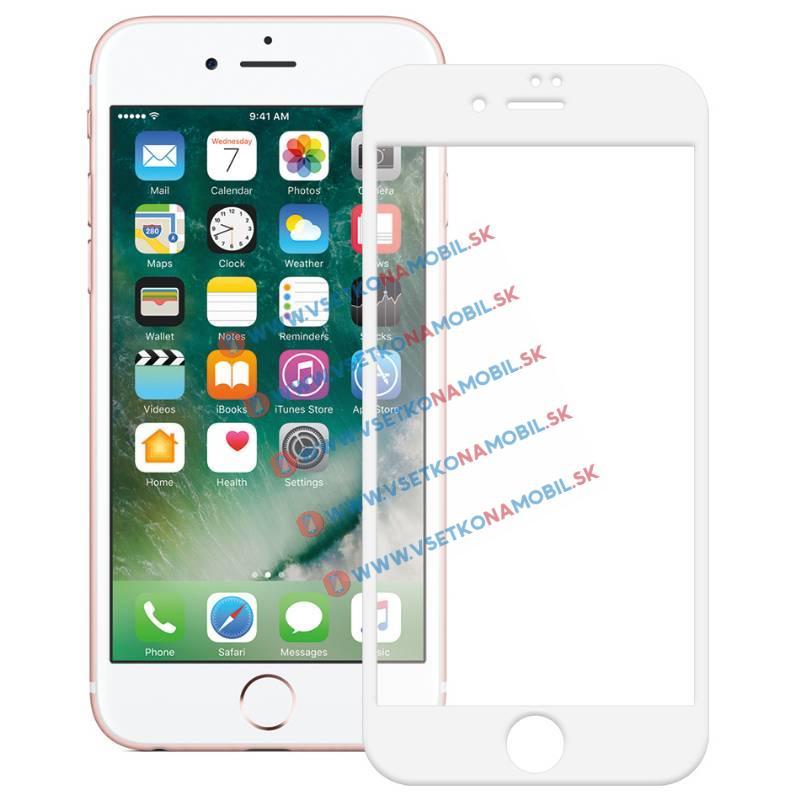 FORCELL 3D Tvrzené sklo Apple iPhone 7 / iPhone 8 bílé