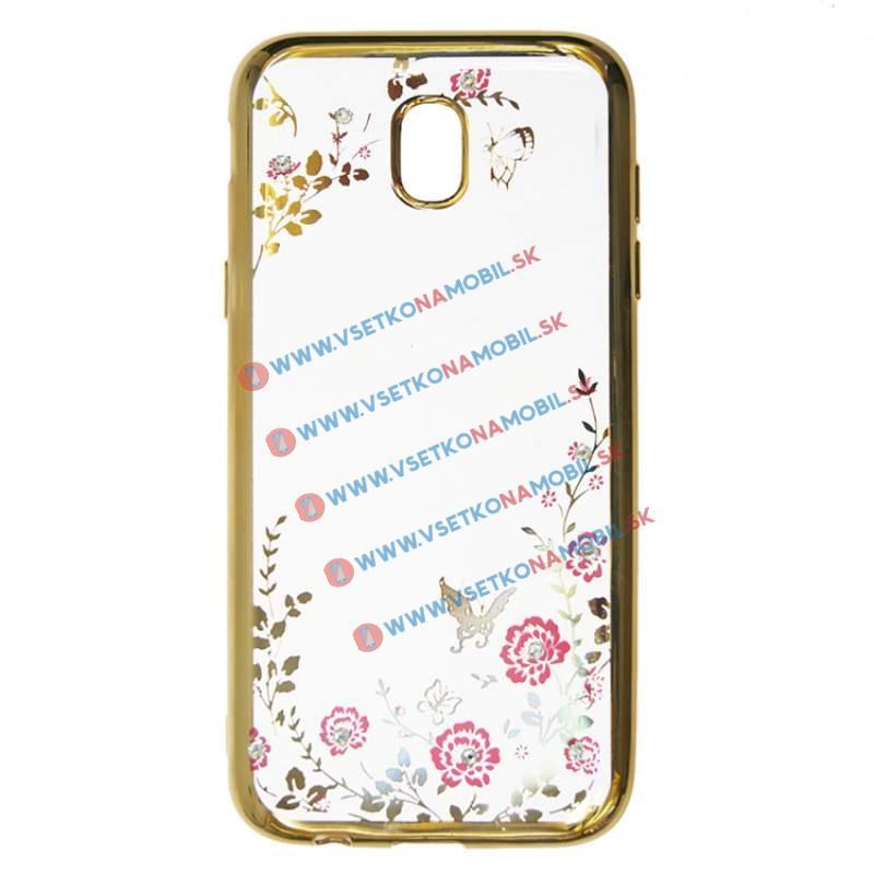 FORCELL BLOOM TPU Samsung Galaxy J7 2017 (J730) zlatý