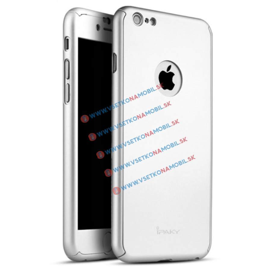 IPAKY 360 ° Obal Apple iPhone 6 Plus   6S Plus stříbrný 7c5a48fdec8