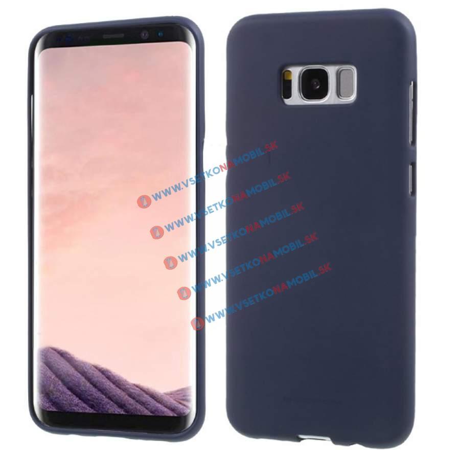 MERCURY SOFT FEELING Samsung Galaxy S8 Plus modrý