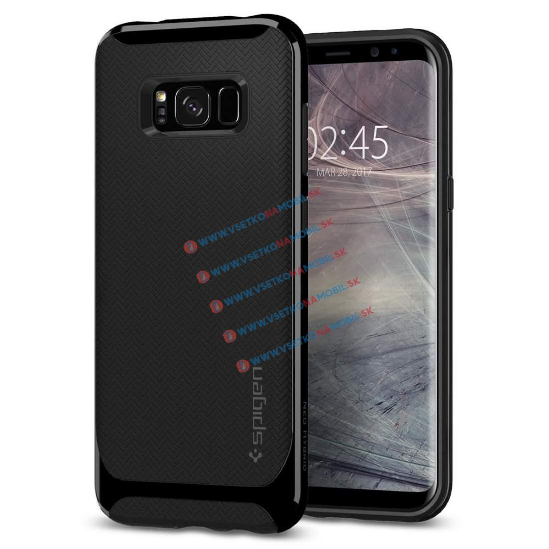 SPIGEN NEO HYBRID Samsung Galaxy S8 Plus Shiny black
