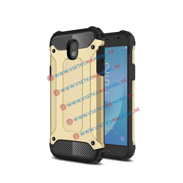FORCELL TOUGH Ochranný obal Samsung Galaxy J7 2017 (J730) zlatý