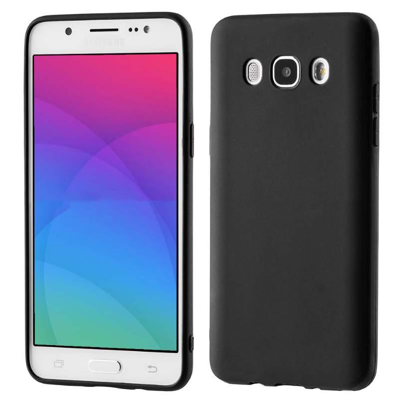 MATTE TPU obal Samsung Galaxy J5 2016 (J510) čierny