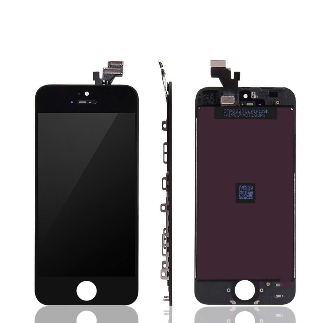 Apple iPhone 5S LCD Displej + dotyková plocha AAA černý