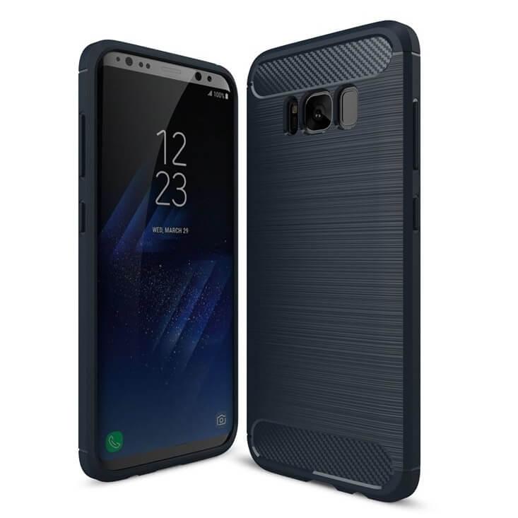 FORCELL FLEXI TPU obal Samsung Galaxy S8 Plus modrý