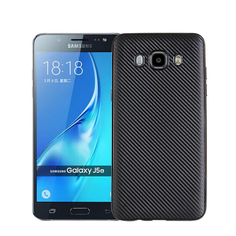 FIBER Ochranný obal Samsung Galaxy J7 2016 (J710) čierny