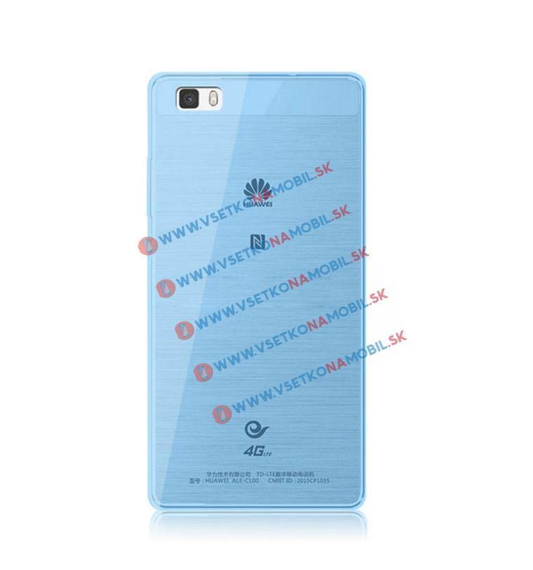Silikónový obal Huawei P8 modrý