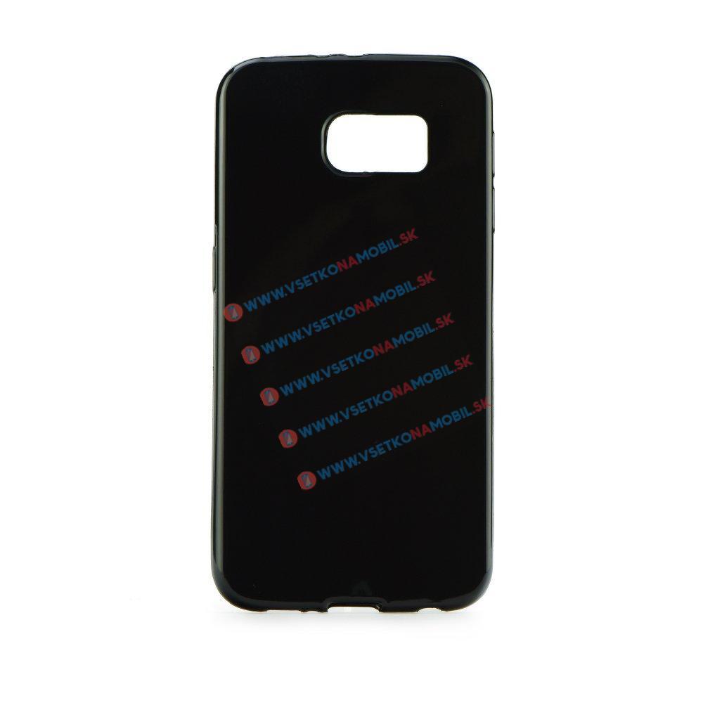 Silikonový obal Samsung Galaxy S6 Edge černý
