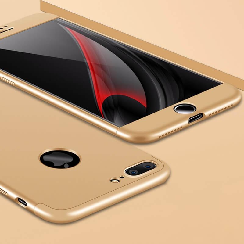 FORCELL 360 ° Ochranný obal Apple iPhone 7 Plus zlatý