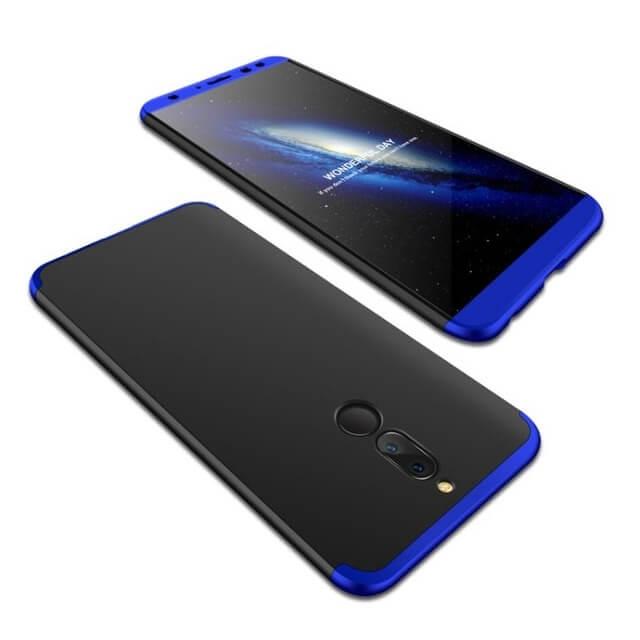 FORCELL 360 ° Ochranný obal Huawei Mate 10 Lite modrý (černý)