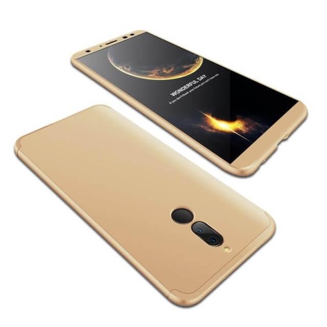 FORCELL 360 ° Ochranný obal Huawei Mate 10 Lite zlatý