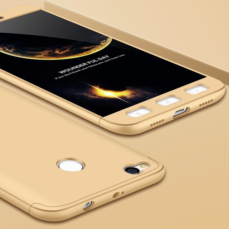 FORCELL 360° Ochranný obal Xiaomi Redmi 4X zlatý