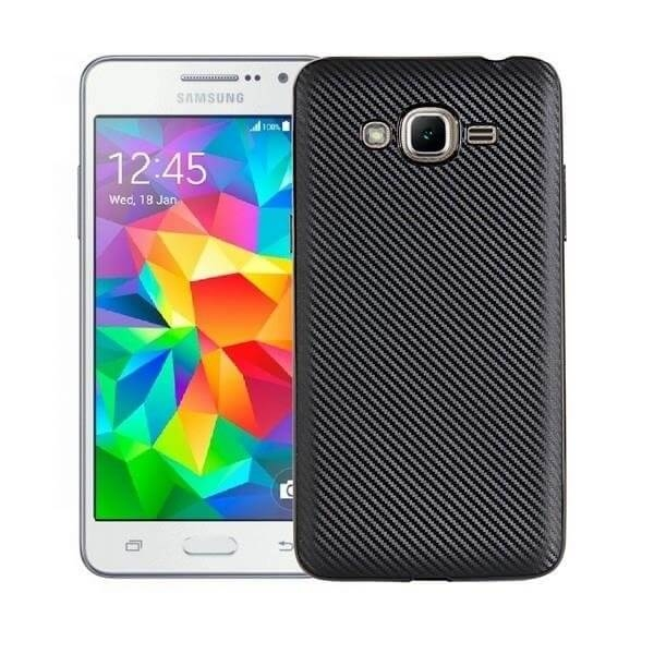 FORCELL FIBER Ochranný kryt Samsung Galaxy J3 2016 čierny
