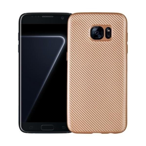 FORCELL FIBER Ochranný kryt Samsung Galaxy S7 zlatý 3df452a9e8d