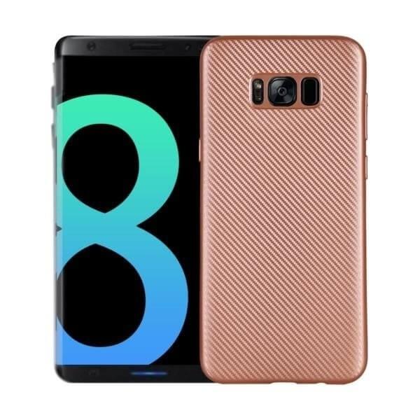 FORCELL FIBER Ochranný kryt Samsung Galaxy S8 růžový