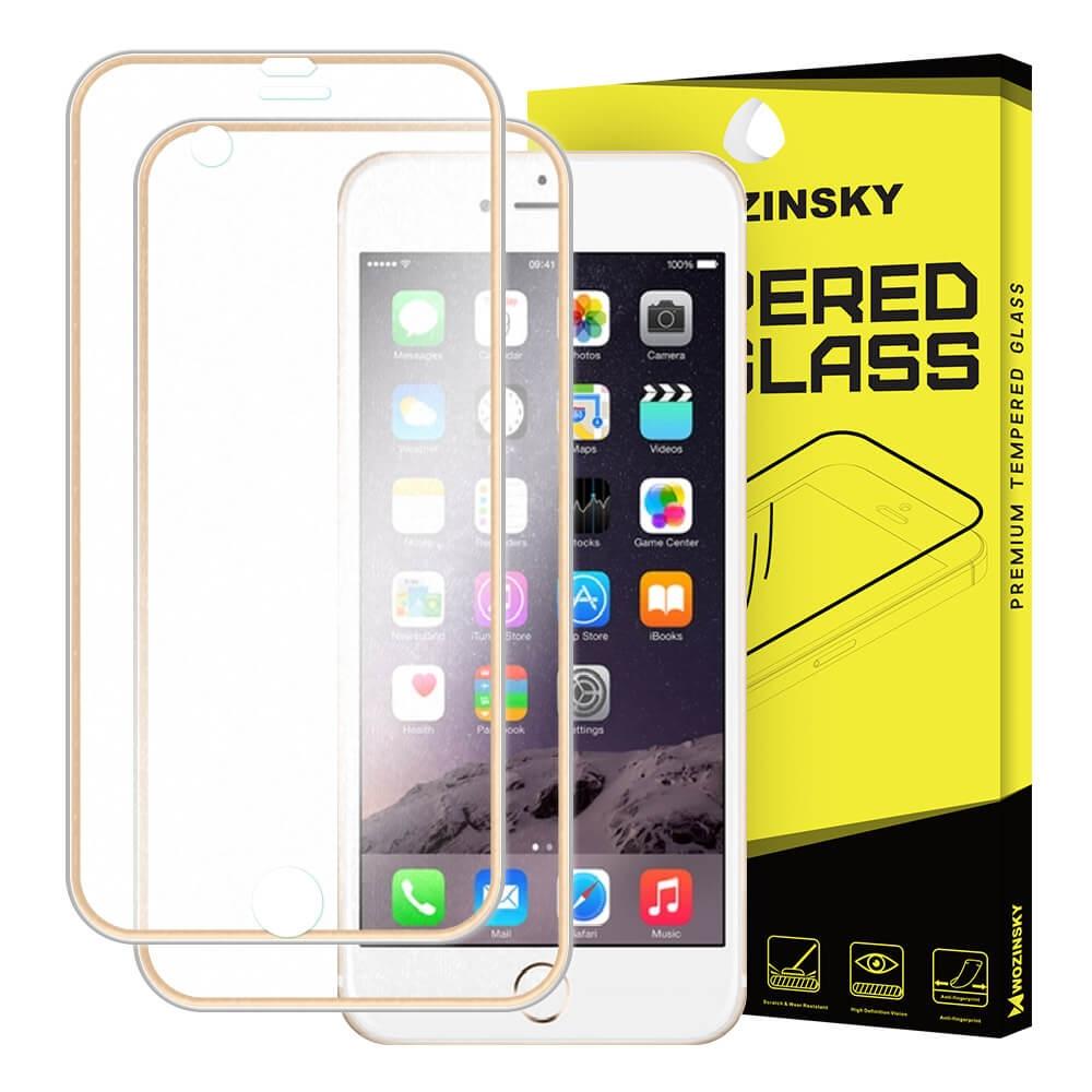 FORCELL 3D METALLIC tvrzené sklo přední + zadní Apple iPhone 6 Plus / 6S Plus zlaté
