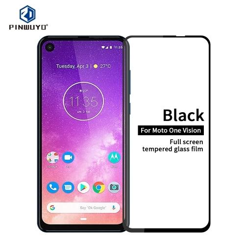 FORCELL 3D Tvrzené sklo Motorola One Vision černé
