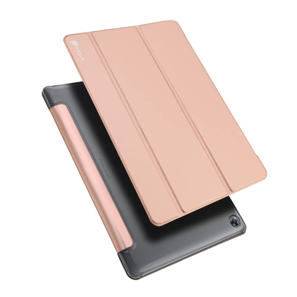 DUX zaklapovací obal Huawei MediaPad M5 / M5 Pro růžový