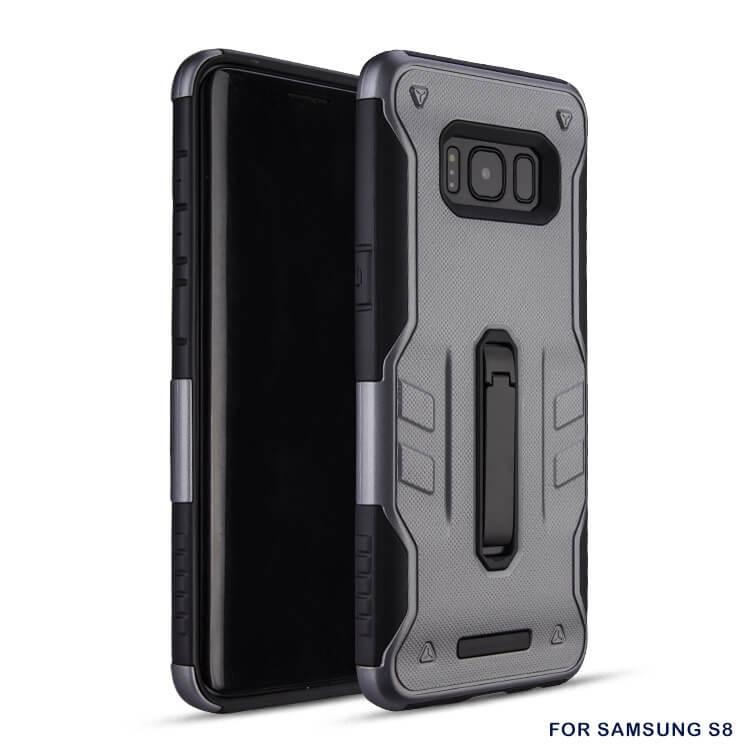 FORCELL DEFENDER Ochranný kryt Samsung Galaxy S8 šedý
