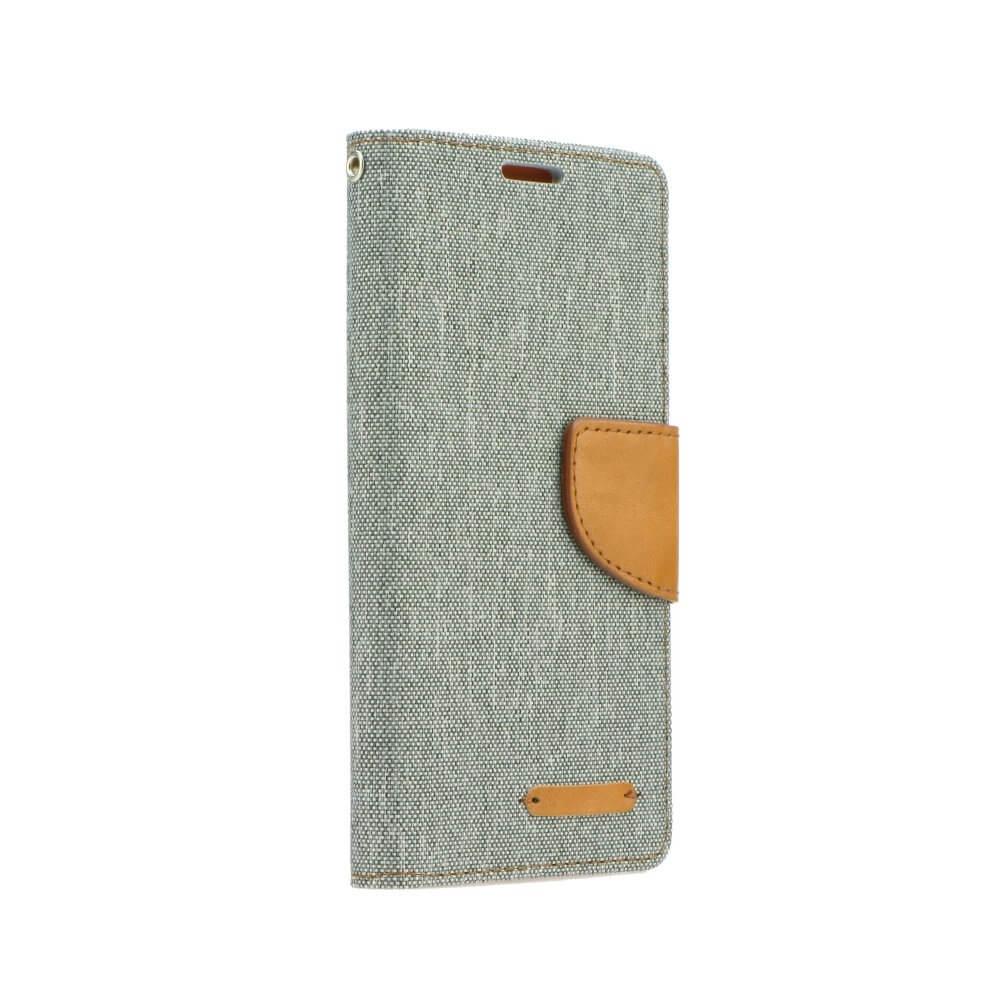 FORCELL CANVAS Peňaženkové púzdro Huawei P20 šedé