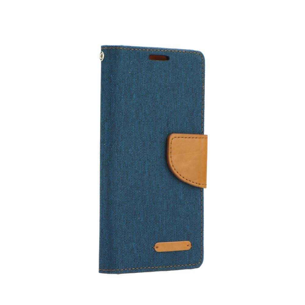 FORCELL CANVAS Peňaženkové púzdro Huawei P20 modré
