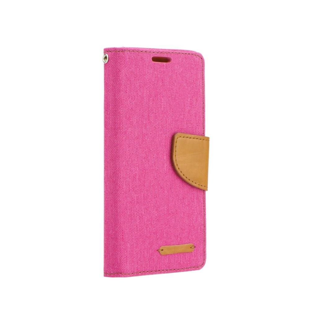FORCELL CANVAS Peňaženkové púzdro Huawei P20 Lite ružové