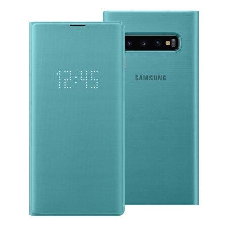 SAMSUNG LED VIEW (EF-NG973PGEGWW) Samsung Galaxy S10 zelený