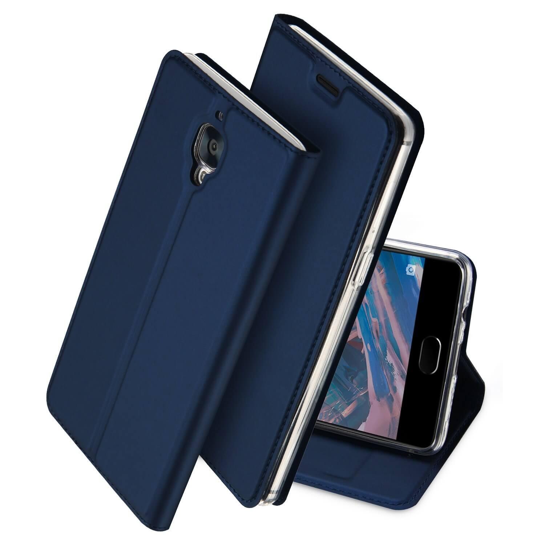 DUX Peňaženkový obal OnePlus 3 modrý