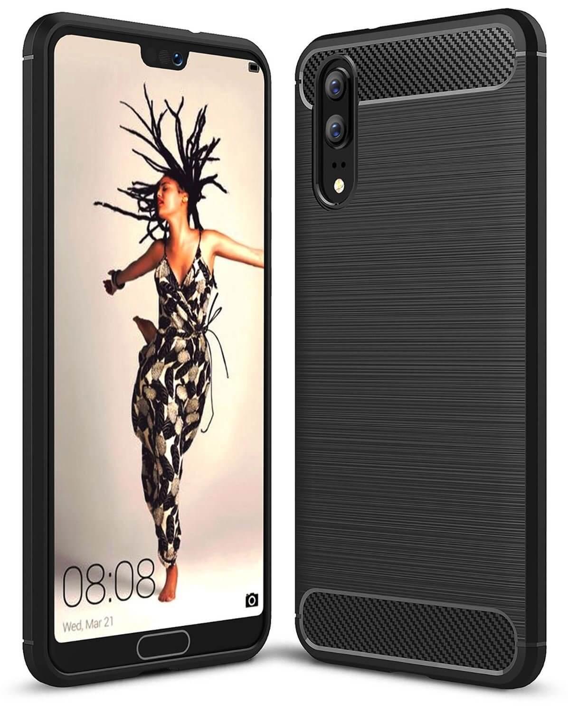 FORCELL FLEXI TPU Kryt Huawei P20 černý
