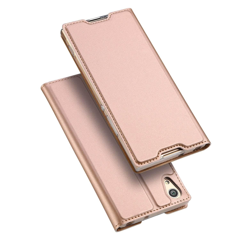 DUX flipové pouzdro Sony Xperia XA1 Plus růžové