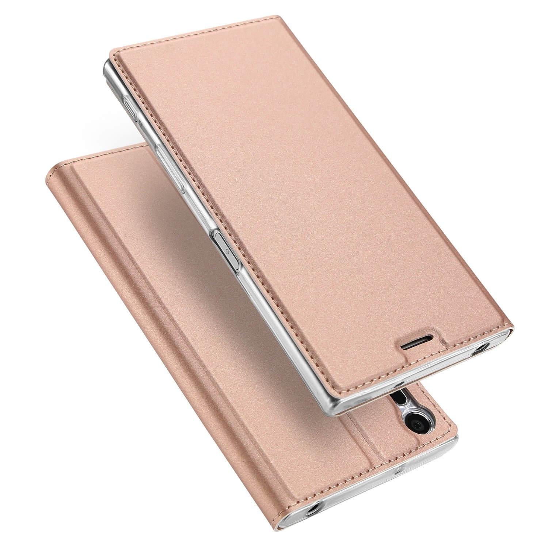 DUX Flipové púzdro Sony Xperia XZ / XZS ružové