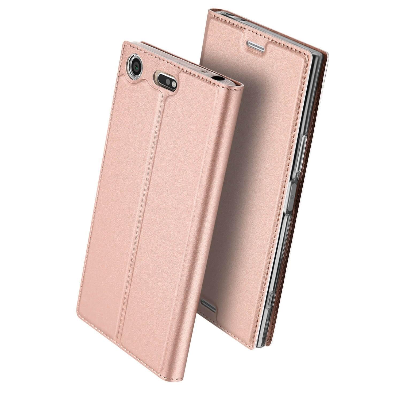 DUX Peňaženkový obal Sony Xperia XZ1 Compact ružový