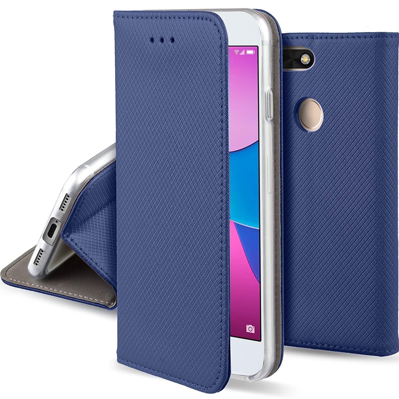 FORCELL MAGNET Peňaženkový obal Huawei P9 Lite MINI modrý