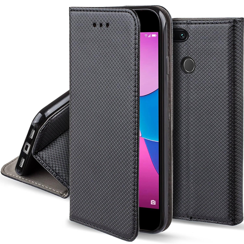 FORCELL MAGNET Peňaženkový obal Huawei P9 Lite MINI čierny