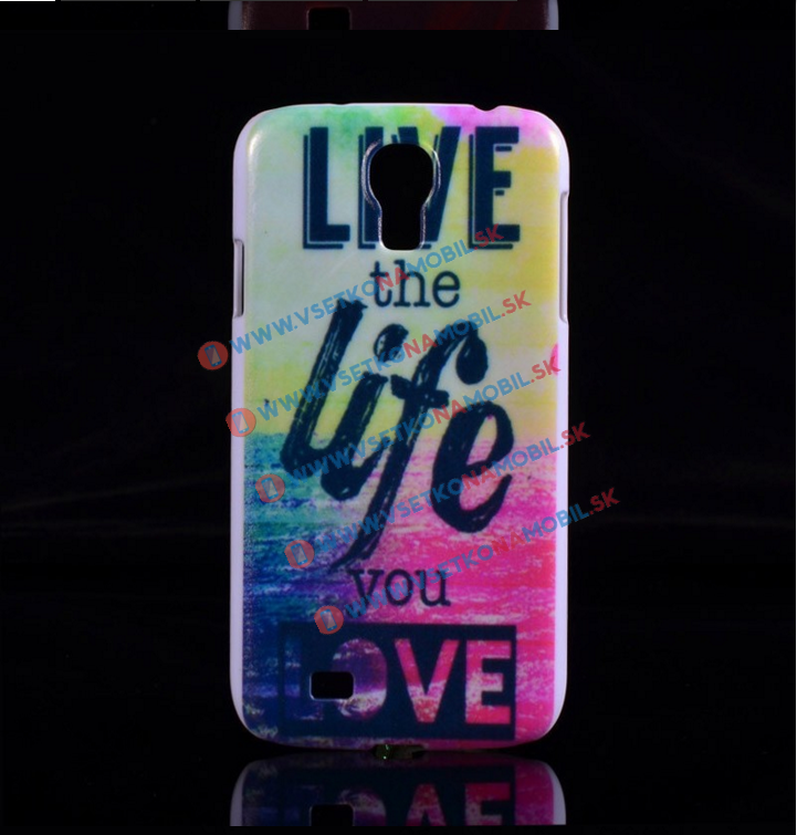 Plastový kryt Samsung Galaxy S4 mini LIFE