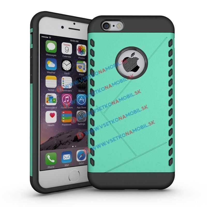 FORCELL Extra odolné HEAVY DUTY pouzdro iPhone 6 / 6S zelené