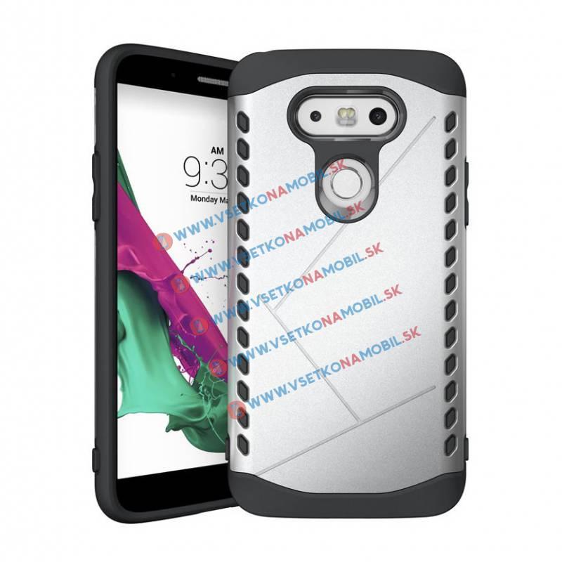 Odolný kryt pro telefon LG G5 stříbrný