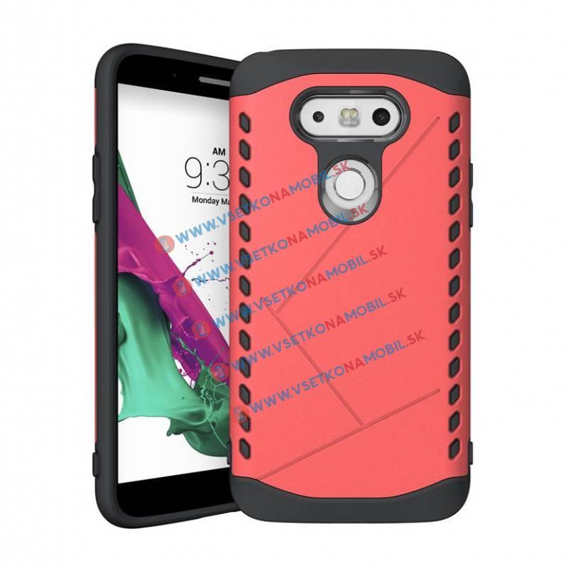 Odolný obal (kryt) pro LG G5 červený