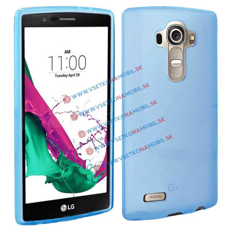 FORCELL Silikonový obal LG G4c modrý (mini)