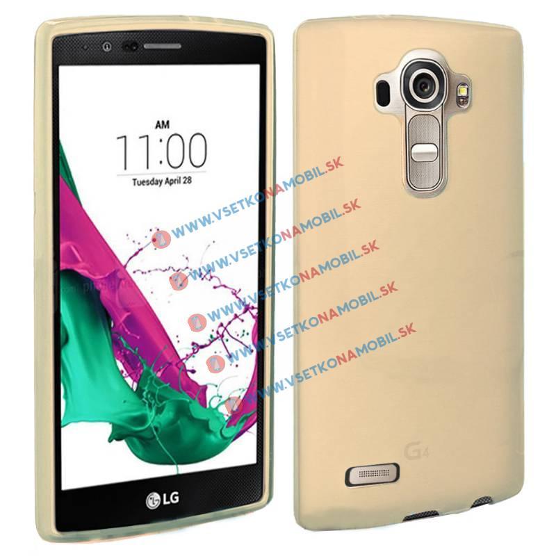 FORCELL Silikonový obal LG G4c zlatý (mini)