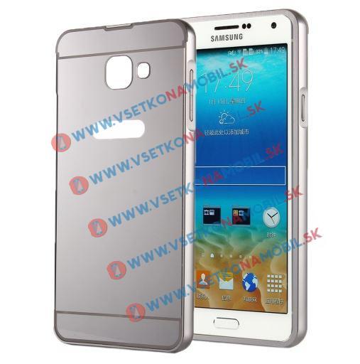 FORCELL Zrcadlový ochranný obal Samsung Galaxy A5 2016 (A510) stříbrný