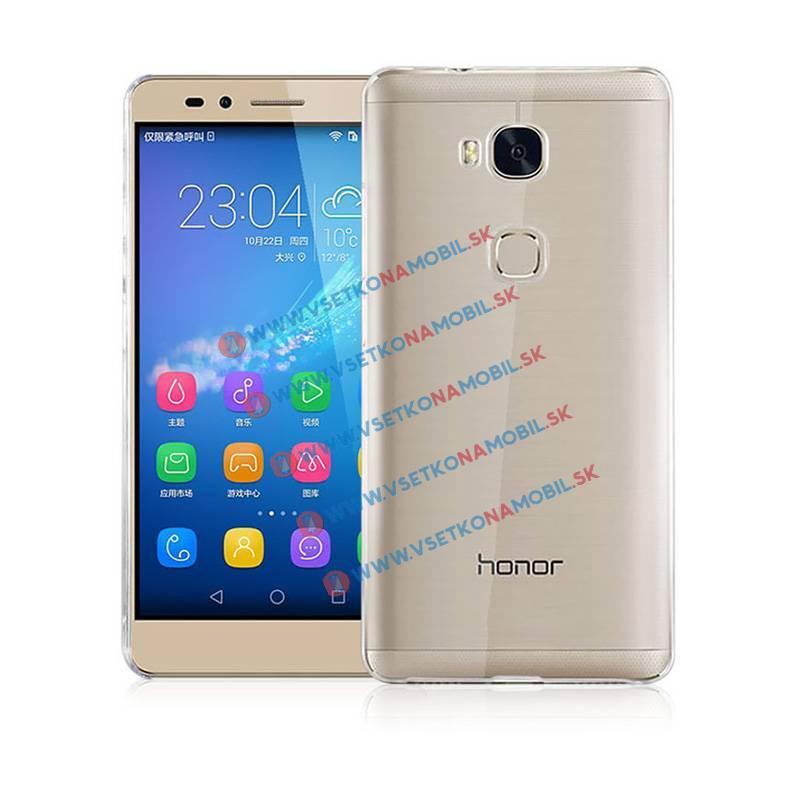 FORCELL Silikónový obal Huawei Honor 5X priehľadný