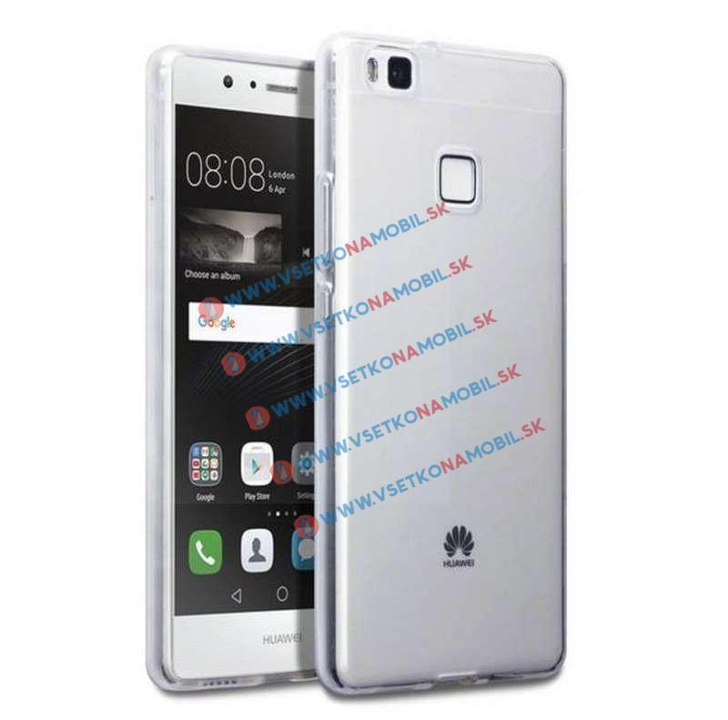 FORCELL Silikónový obal Huawei P9 lite priehľadný
