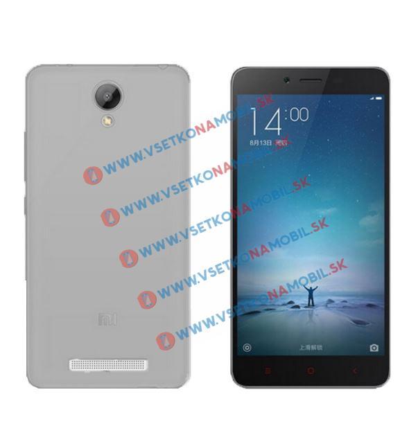 FORCELL Silikonový obal Xiaomi Redmi Note 2 šedý