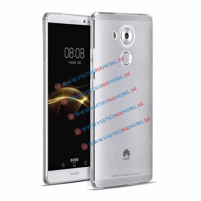 Silikónový ochranný obal Huawei Mate 8 priehľadný