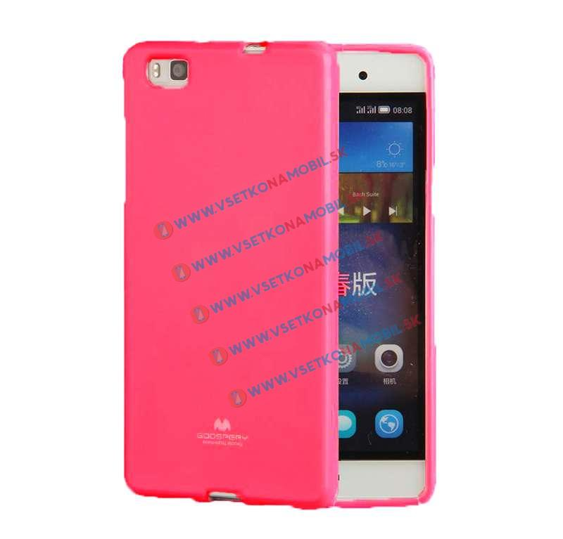 FORCELL Ochranný silikónový obal Huawei P8 ružový